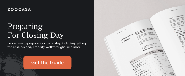 How to Prepare For Closing Day [Free Downloadable PDF]