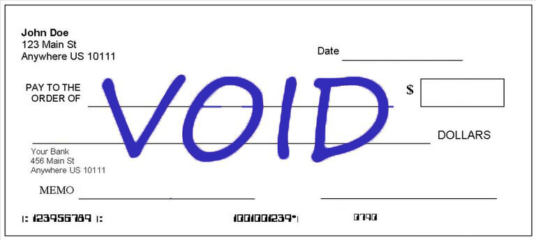 What is a Voided Check? | How to Void a Check